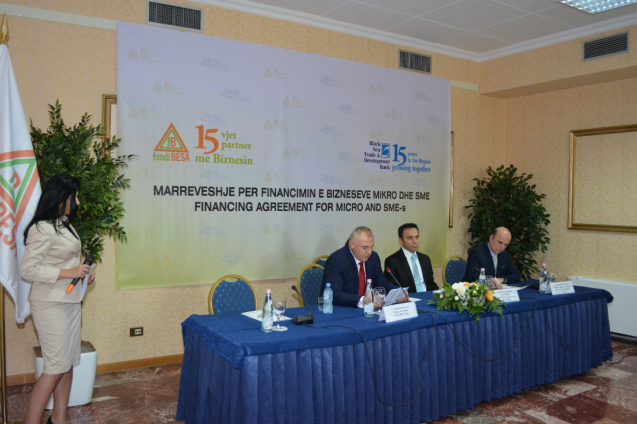 Fondi BESA sh.a. has signed a 6 Million Euros loan agreement with the Black Sea Trade and Development Bank