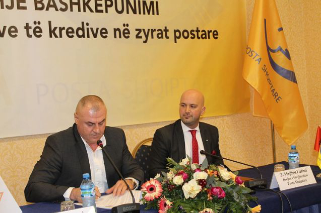 "COOPERATION AGREEMENT ""For the payment of the loan installments at the post offices"""