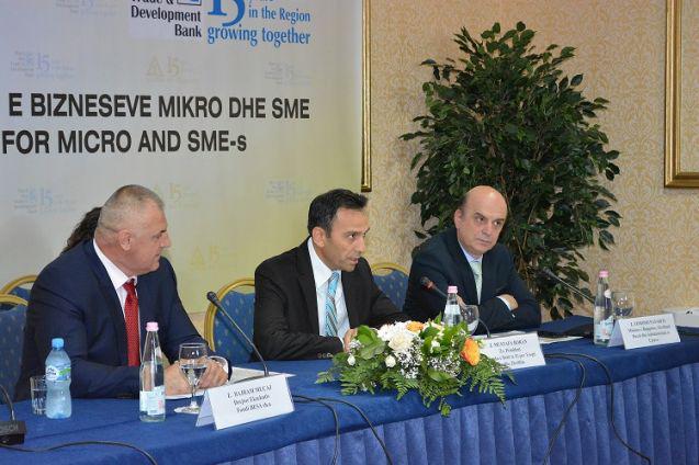 Fondi BESA sh.a. nënshkruan një Marrëveshje Huaje në shumën 6 milionë Euro me  Bankën e Detit të Zi për Tregti dhe Zhvillim