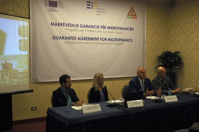 First Employment and Social Innovation microfinance deal in Albania to benefit 5,000 micro-enterprises