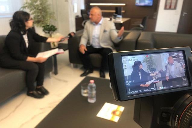 Intervista e Drejtorit Ekzekutiv të Fondit Besa, Prof. Asoc. Dr. Bajram Muçaj për TV FAX NEWS