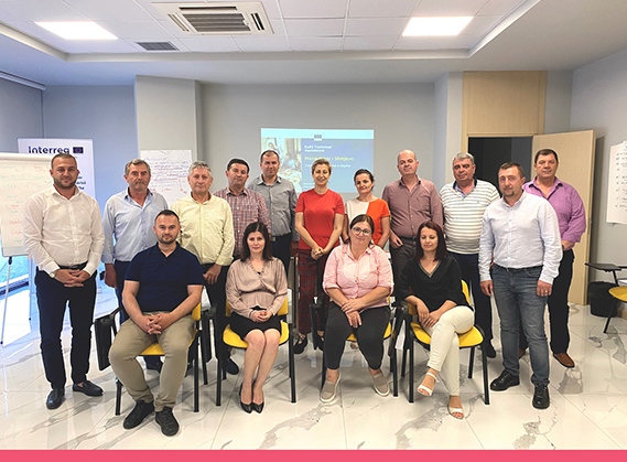 TRAINING FOR HEADS OF REGIONAL BRANCHES